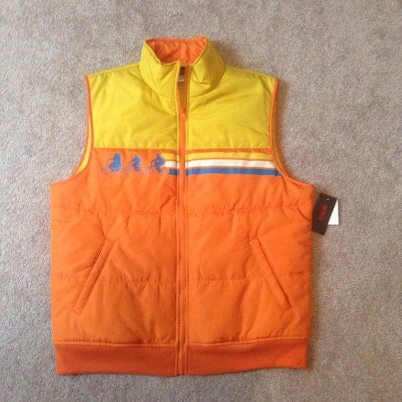 Large Stranger Things vest with new price tag
